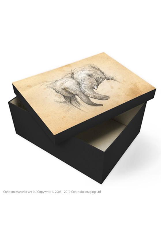 Marcello-art: Decoration accessoiries Souvenir box 287 game trunk