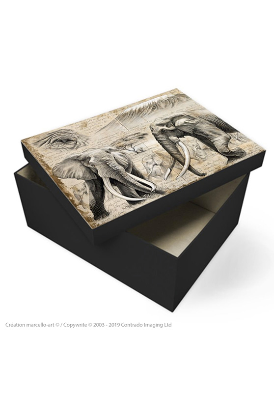 Marcello-art: Decoration accessoiries Souvenir box 303 A Satao