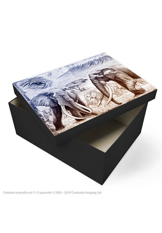 Marcello-art: Decoration accessoiries Souvenir box 303 B Satao