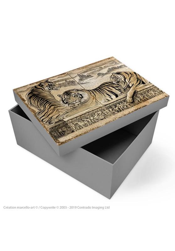 Marcello-art: Decoration accessoiries Souvenir box 303 A kamasutra
