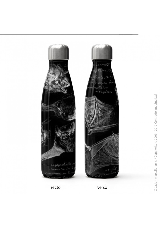 Marcello-art: Decoration accessoiries Isothermal bottle 31 pipistrelle white