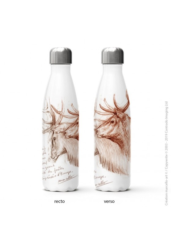 Marcello-art: Decoration accessoiries Isothermal bottle 52 red deer