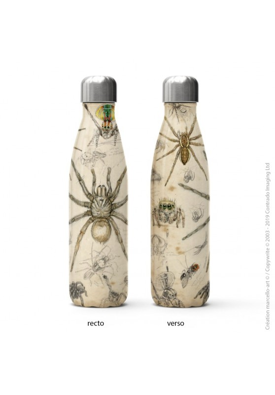 Marcello-art: Decoration accessoiries Isothermal bottle 82 Arachna