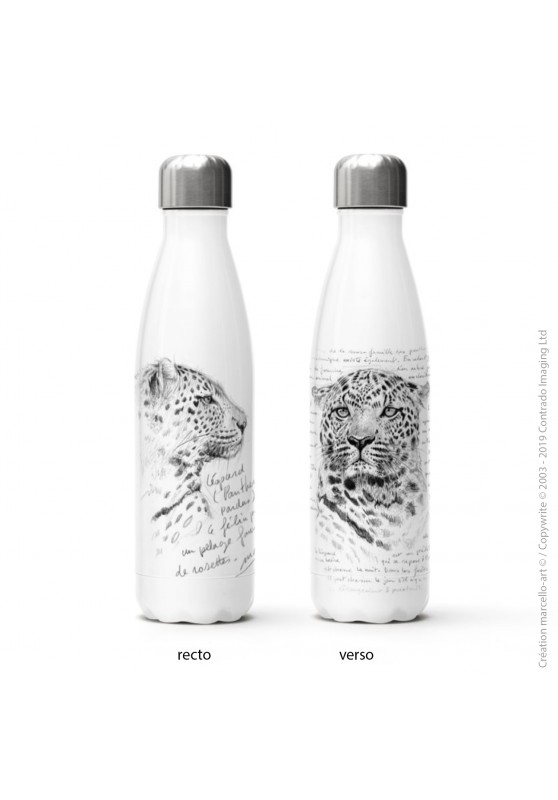 Marcello-art: Decoration accessoiries Isothermal bottle 229 leopard