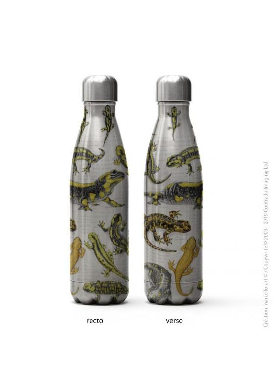 Marcello-art : Accessoires de décoration Bouteille isotherme inox 383 salamandre