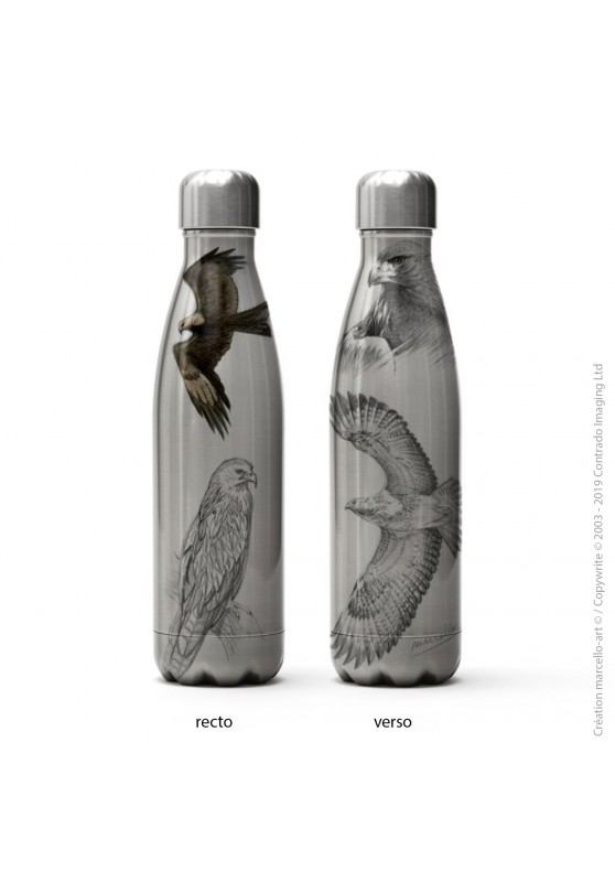Marcello-art: Decoration accessoiries Isothermal bottle inox raptors