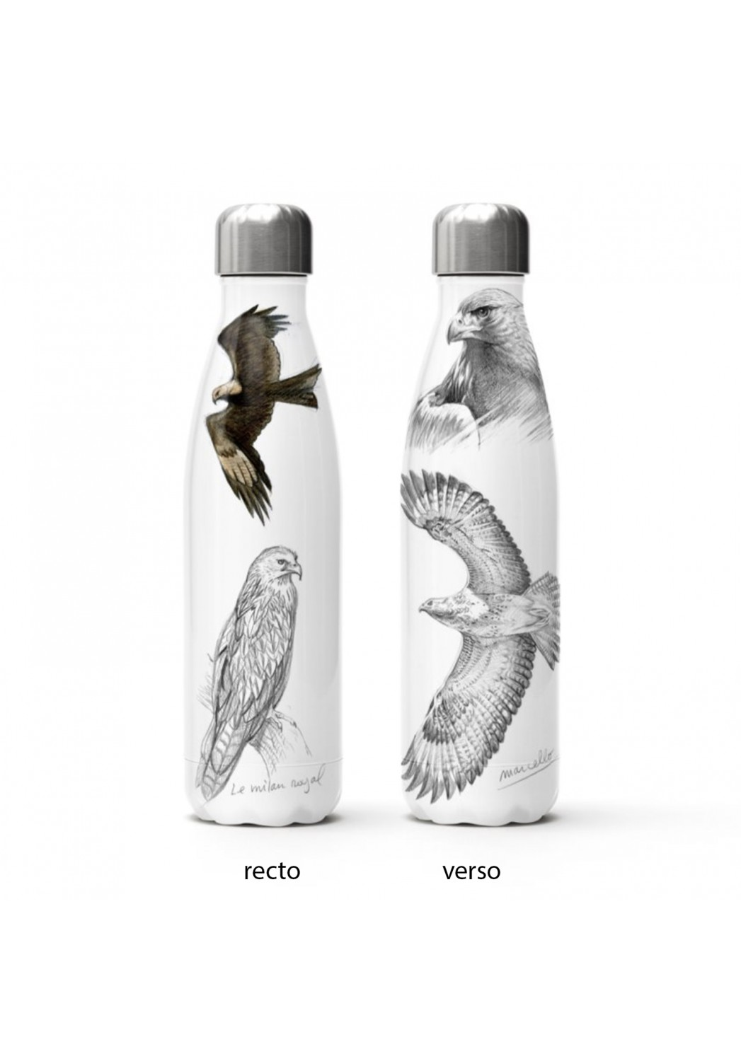 Marcello-art: Decoration accessoiries Isothermal bottle raptors