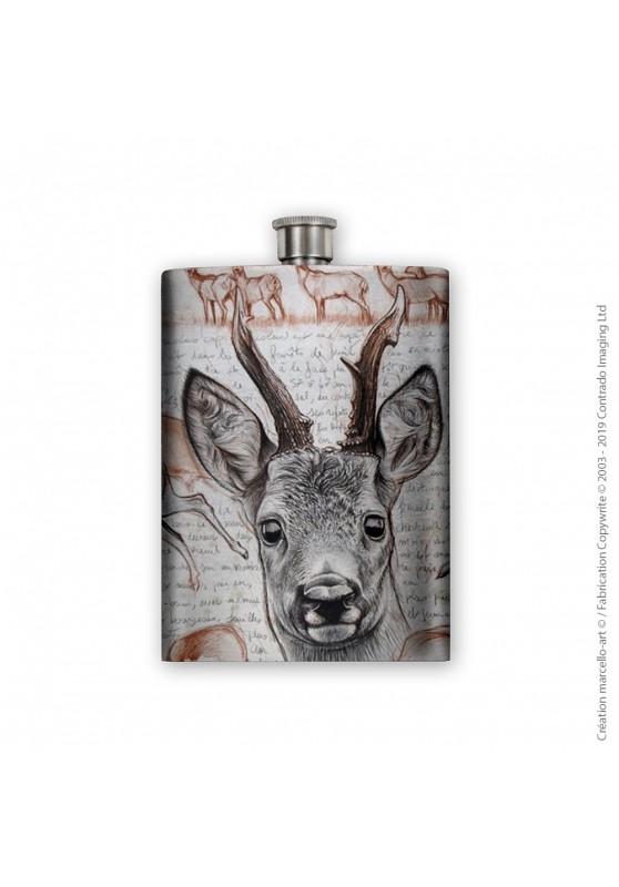Marcello-art: Decoration accessoiries Flask 280 roe deer
