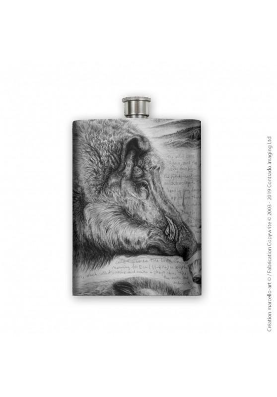 Marcello-art : Accessoires de décoration Flasque 347 sus scrofa