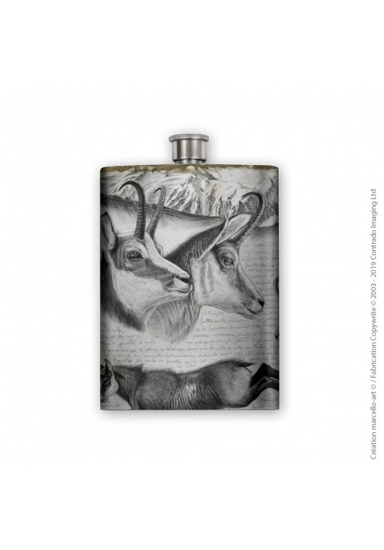 Marcello-art: Decoration accessoiries Flask 349 chamois