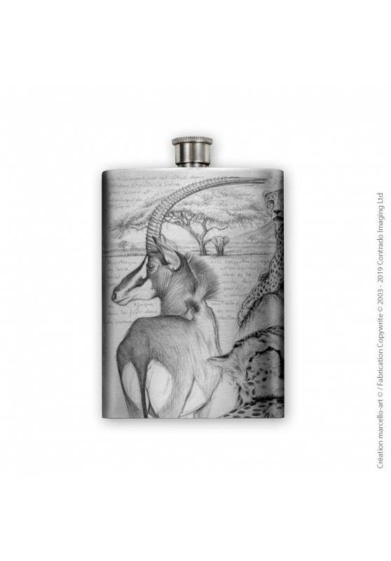 Marcello-art: Decoration accessoiries Flask 363 sable antelope