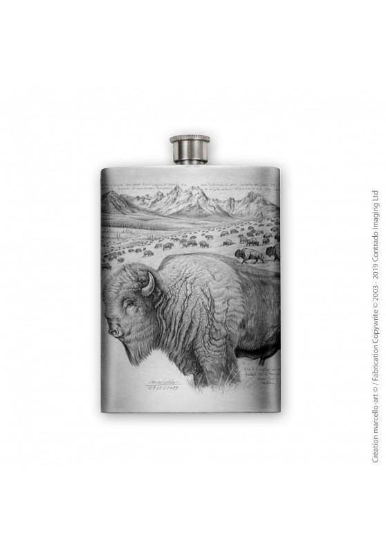 Marcello-art : Accessoires de décoration Flasque 390 bison