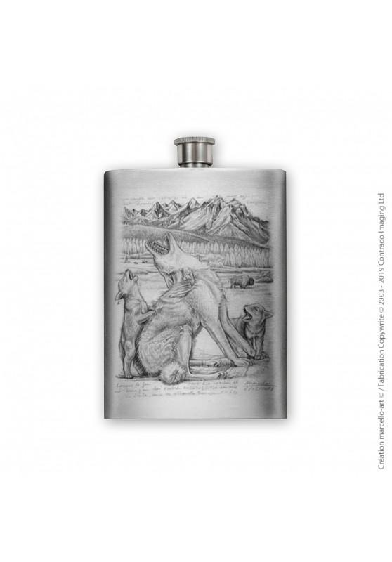 Marcello-art: Decoration accessoiries Flask 391 coyote