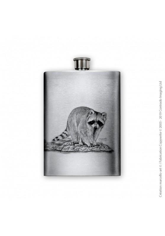 Marcello-art : Accessoires de décoration Flasque 393 raton laveur