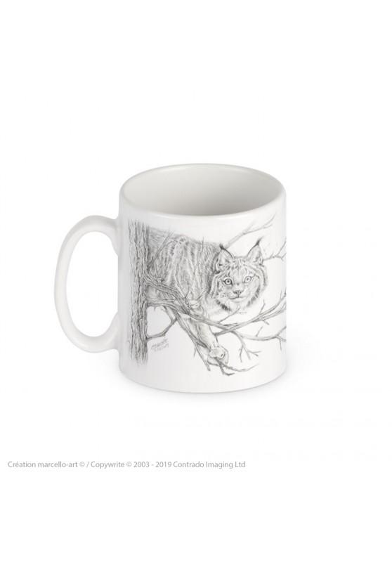 Marcello-art : Accessoires de décoration Mug porcelaine 393 linx