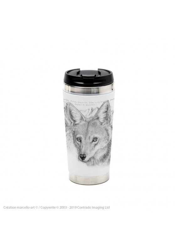 Marcello-art: Decoration accessoiries Thermos mug 391 coyote