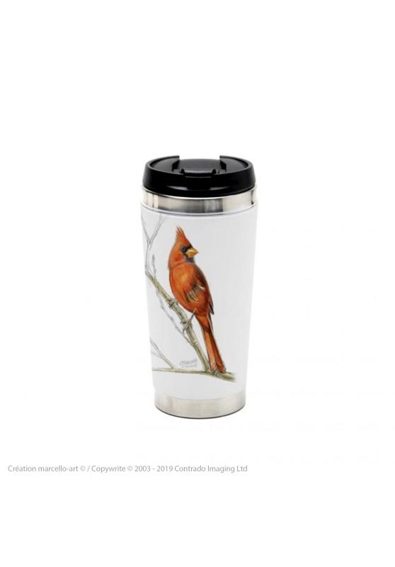 Marcello-art : Accessoires de décoration Mug thermos 393 cardinal