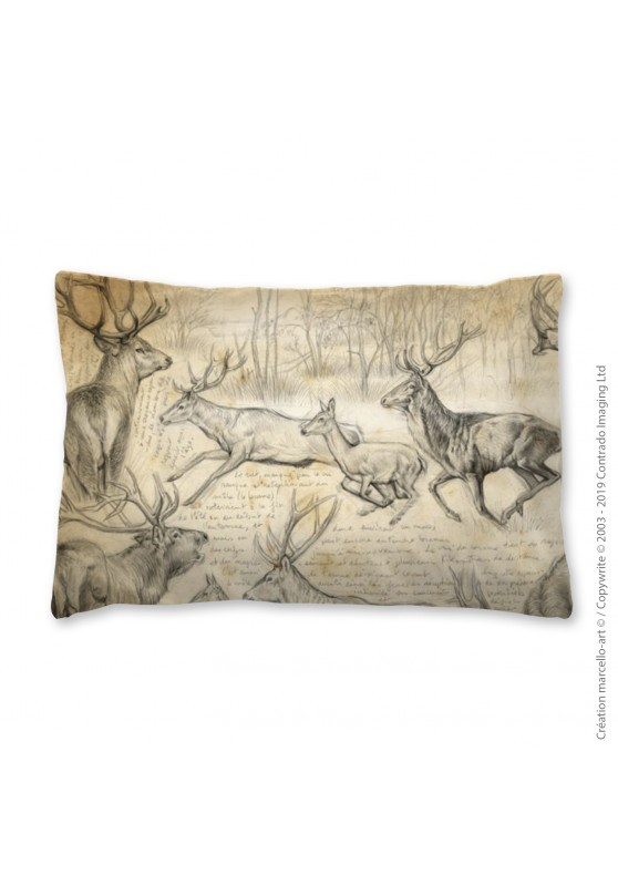 Marcello-art: Fashion accessory Pillowcase 271 A red deer