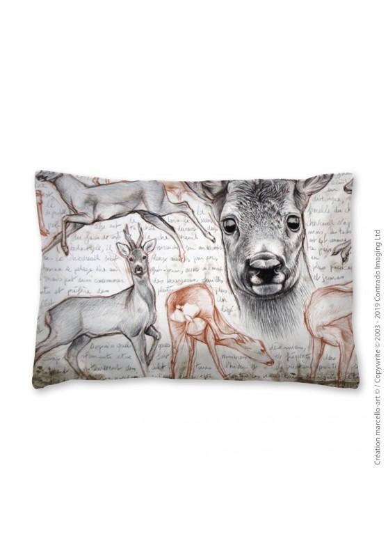 Marcello-art: Fashion accessory Pillowcase 280 A roe deer