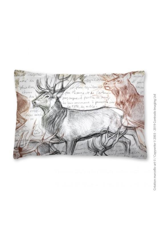 Marcello-art: Fashion accessory Pillowcase 297 A The last herd