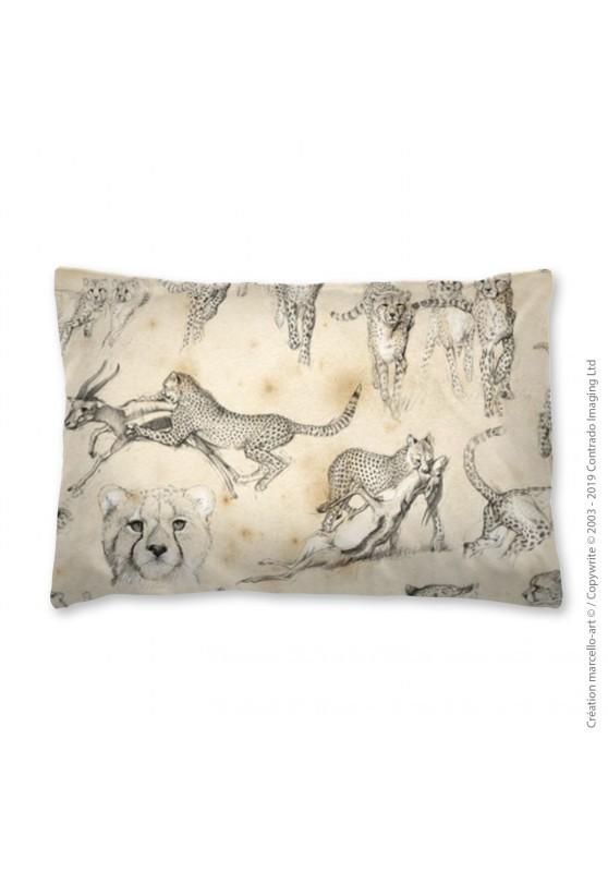 Marcello-art: Fashion accessory Pillowcase 320 A Cheetah For Ever