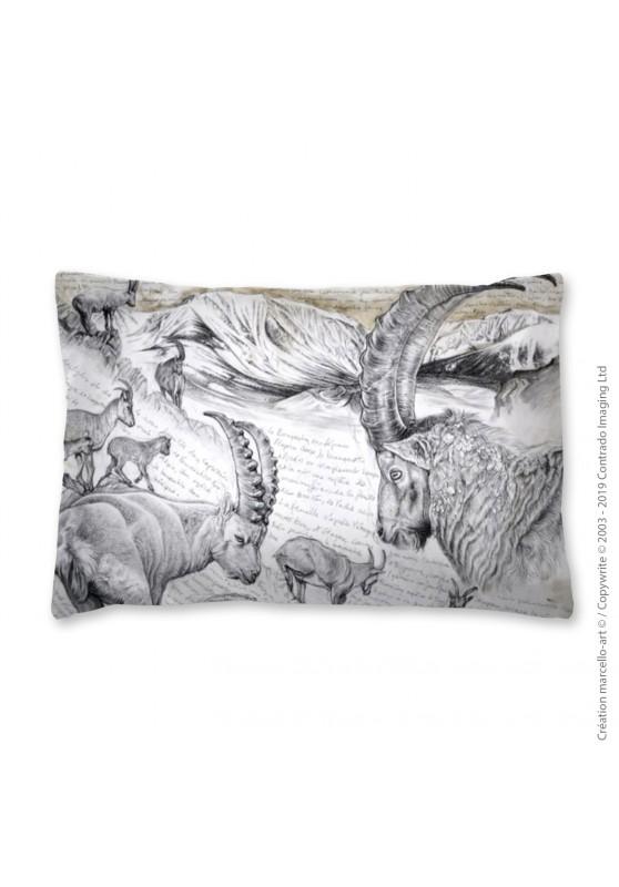 Marcello-art: Fashion accessory Pillowcase 348 A Alpine Ibex