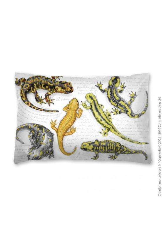 Marcello-art: Fashion accessory Pillowcase 383 A salamander