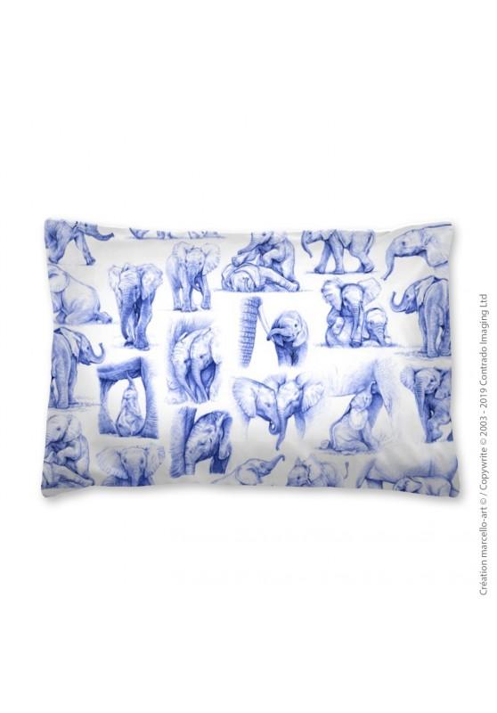 Marcello-art: Fashion accessory Pillowcase 392 A elephant patchwork ballpoint pen