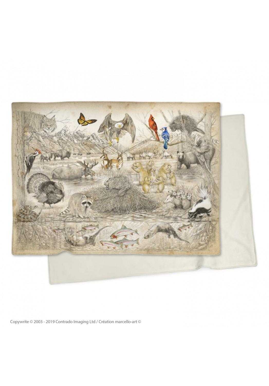 Marcello-art: Plaid Plaid 393 american fauna