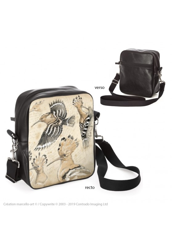 Marcello-art: Fashion accessory Bag 182 hoopoe