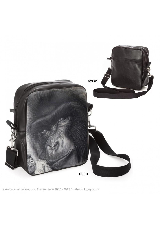 Marcello-art: Fashion accessory Bag 193 mountain gorilla