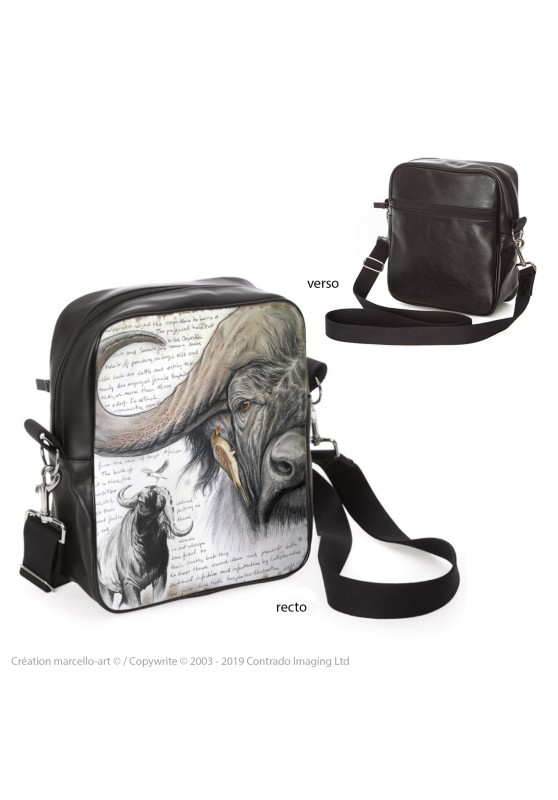 Marcello-art: Fashion accessory Bag 227 red-billed Oxpecker