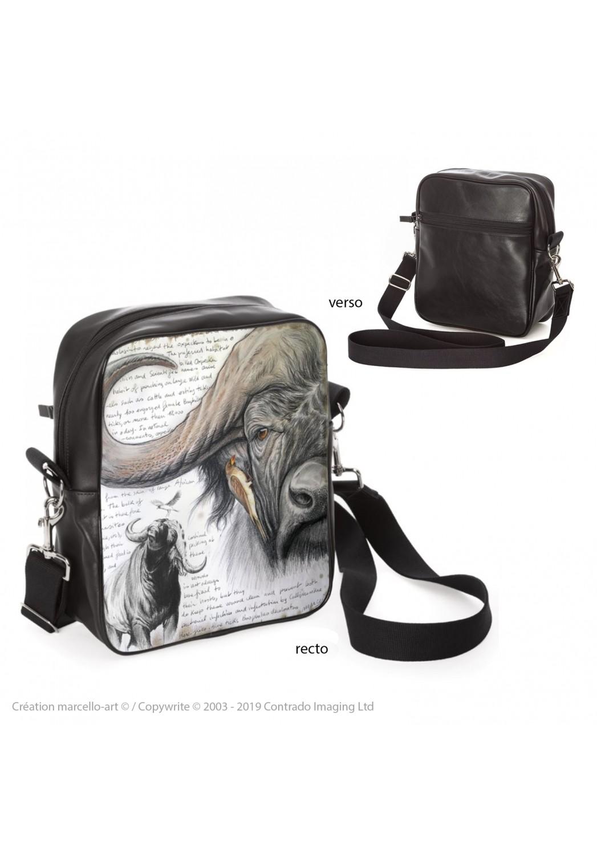 Marcello-art: Fashion accessory Bag 227 red-billed Oxpecker