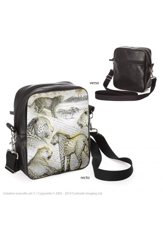 Marcello-art: Fashion accessory Bag 252 leopard
