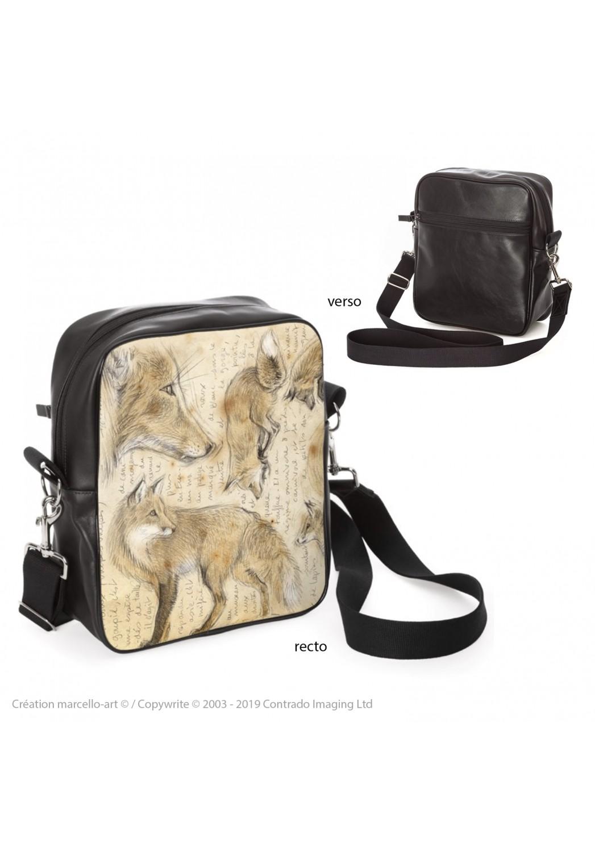 Marcello-art: Fashion accessory Bag 336 red fox