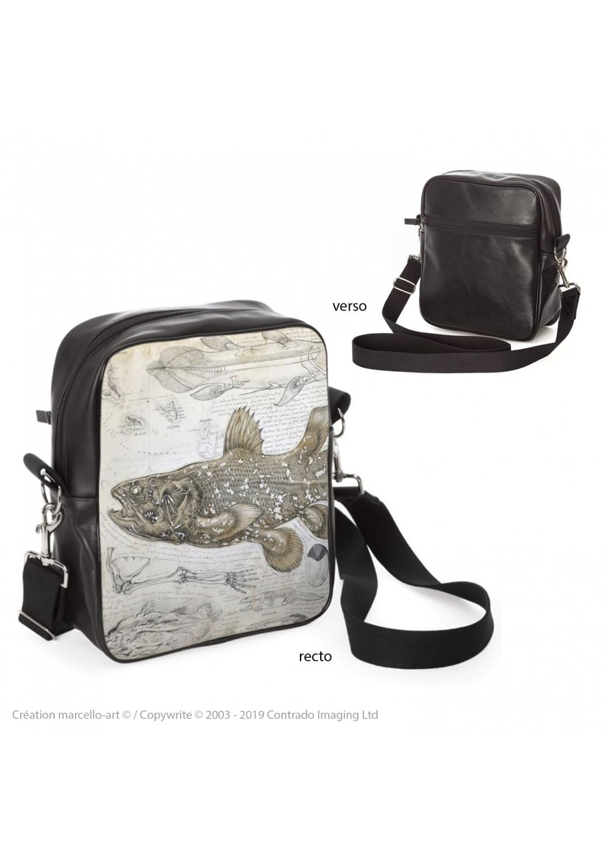 Marcello-art : Accessoires de mode Sacoche 346 Latimeria chalumnae