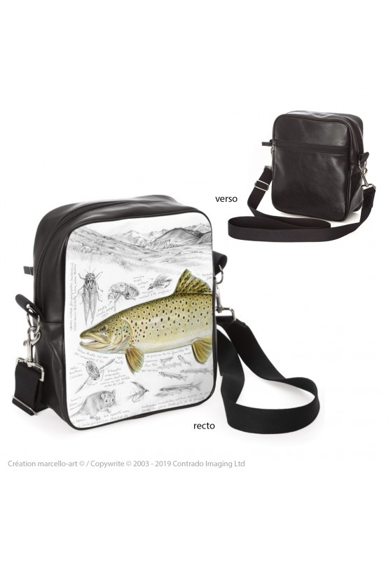 Marcello-art: Fashion accessory Bag 372 brown trout