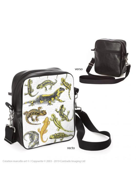 Marcello-art : Accessoires de mode Sacoche 383 salamandre