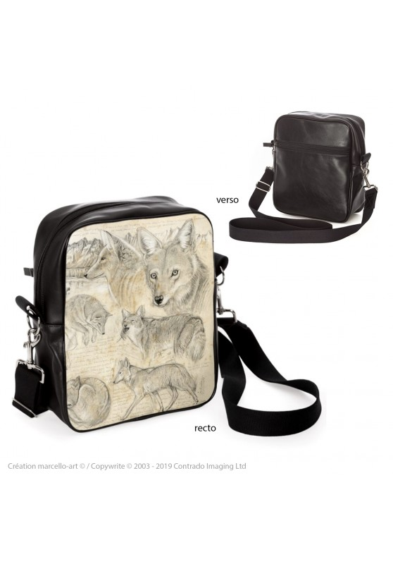 Marcello-art : Accessoires de mode Sacoche 391 coyote