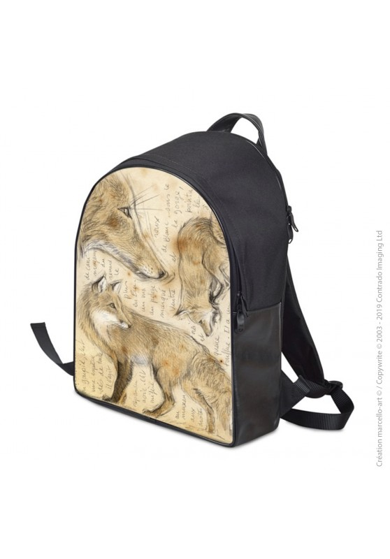 Marcello-art : Accessoires de mode Sac à dos 336 renard roux