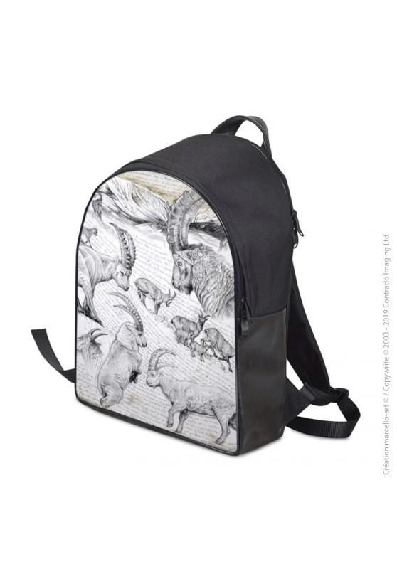 Marcello-art : Accessoires de mode Sac à dos 348 bouquetin
