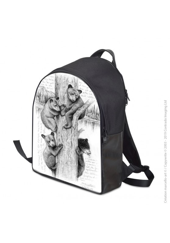 Marcello-art: Fashion accessory Backpack 382 little bears