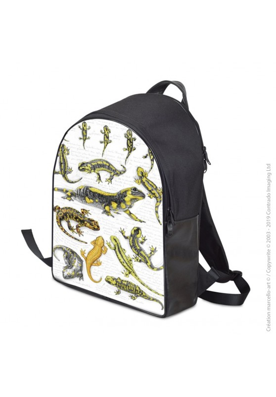Marcello-art: Fashion accessory Backpack 383 salamander