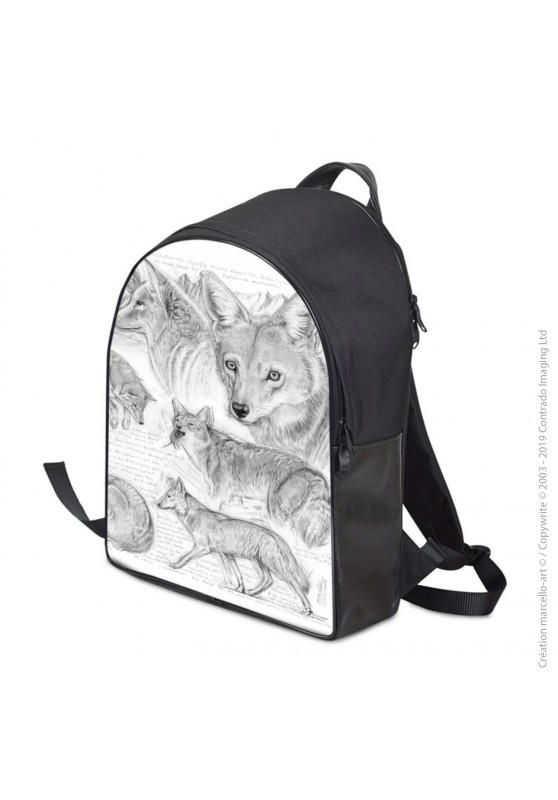 Marcello-art: Fashion accessory Backpack 391 coyote