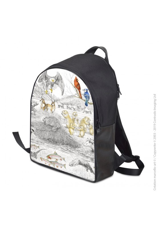 Marcello-art: Fashion accessory Backpack 393 american fauna