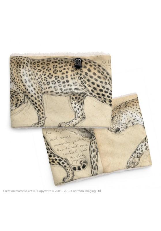 Marcello-art: Snood Snood 180 leopard