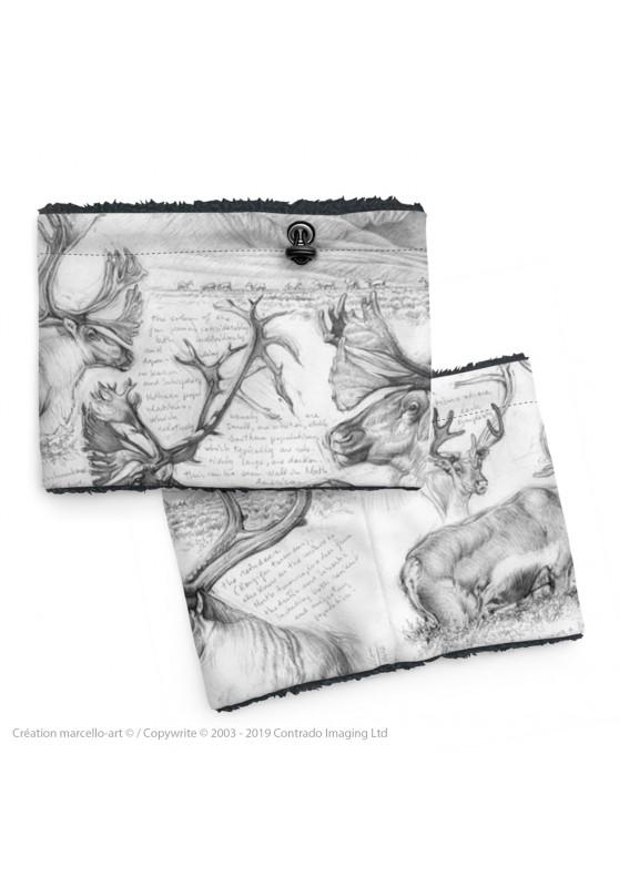 Marcello-art: Snood Snood 190 caribou