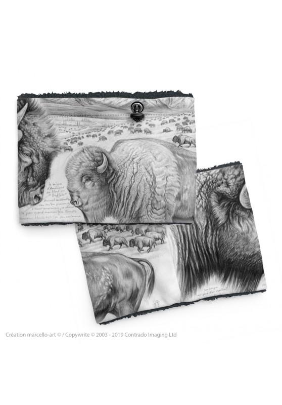 Marcello-art: Snood Snood 390 American buffalo