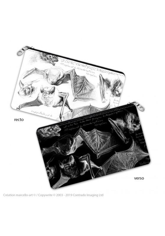 Marcello-art: Decoration accessoiries Pencil case 31 pipistrelle