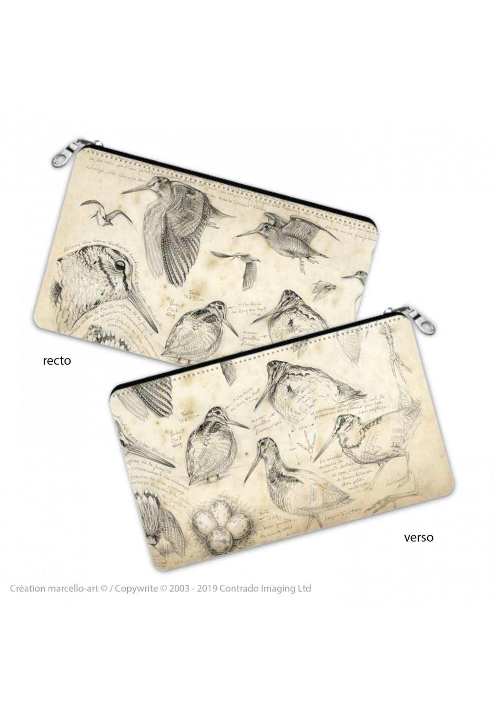 Marcello-art: Decoration accessoiries Pencil case 50 snipe